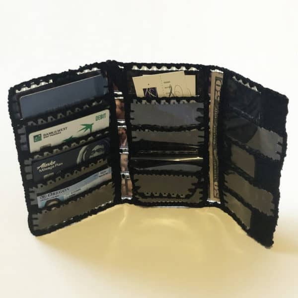 Inside Women's trifold wallet
